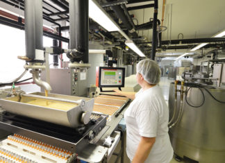 Food production line operator